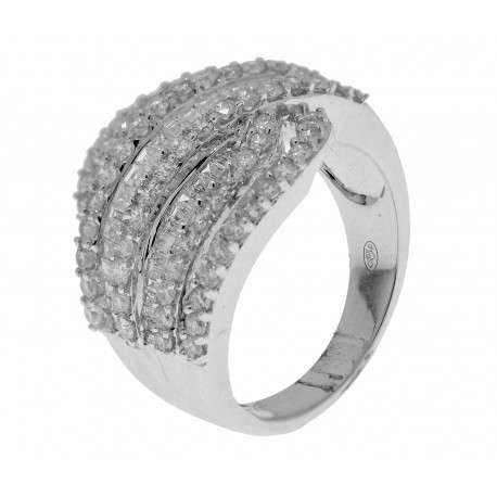 Bague 80 diamants