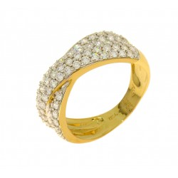 Bague 67 diamants